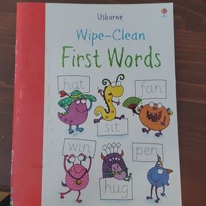 Unborne wipe-clean learning books